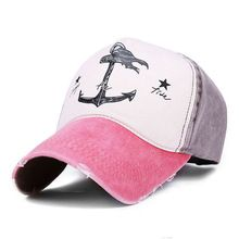 2017 Spring Autumn Couples Hat For Man And Woman Pure Cotton baseball Caps  Do Old Pirate Ship Anchor Brand Hats 7 colors 8102 a985a6de3d09