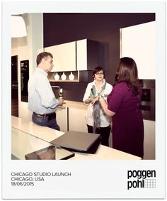 Chicago Studio Launch #Poggenpohl #Studio #Chicago #USA