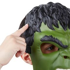 """The Avengers will put all of their powers to the test as they assemble to take on their greatest enemy: Ultron! Obsessed with mechanical perfection, Ultron will stop at nothing to control the world! Can the Avengers defeat him and save humanity?<br><br>Put on the Avengers: Age of Ultron Hulk mask and pretend to be Bruce Banner's superhuman alter ego! You're ready to join the Avengers in their fight against Ultron's enemy forces, one """"Hulk smash"""" at a time!<br><br>Superpowers not…"""