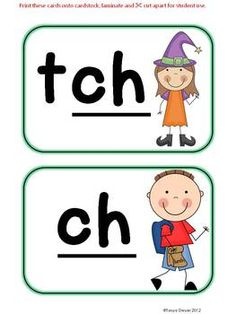 ch' sounds - Phonics - The Three 'ch' Sounds | Language, Anchors ...