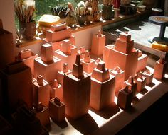 Sequoia miller's clay city, in perfect lighting