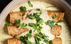A classic sour cream chicken enchiladas recipe.