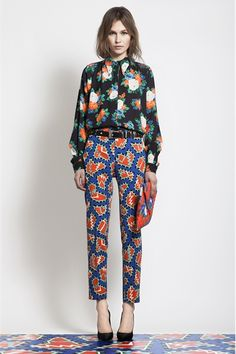 patterns! MSGM Pre-Fall 2012 2013 collection gimme!