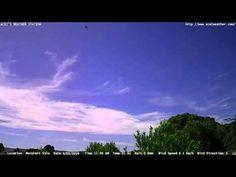 Adelaide weather time Lapse  Fri 04 03 2016