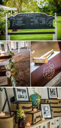 Emmie & Dave August 31 Nashville, Tennessee ~~~~~~~~ Q & A with the Bride: Which details from your wedding were your favorites? Our favorite detail was probably the wine box ceremony. We had a custom dark wood wine box made for us engraved with our names and wedding date in a special symbol that was …