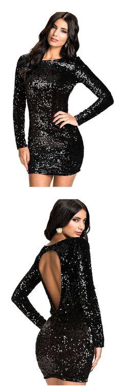 9cff5e052ac039 53 Best Black Sequins images in 2015   Black sequins, Black glitter ...