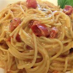 Chicken Spaghetti - Chicken, Pasta, Rotel and Cheese!