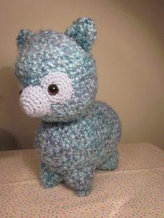 Amigurumi Alpaca : Alpacas, Amigurumi and Llamas on Pinterest