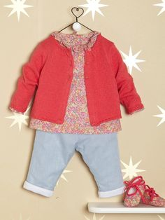 Bébé-Bébé fille-Les Looks Printemps-Eté-Liberty grenadine
