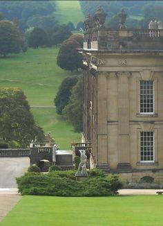 Mr.Darcy's house in Pride & Prejudice: Chattsworth House, Derbyshire UK