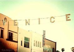 late afternoon jogs through Venice Beach venice beach - photograph - original fine art . by MyanSoffia. Venice California, California Dreamin', California History, Echo Park, Venice Beach, Santa Monica, Places Ive Been, Places To Go, Beach Date
