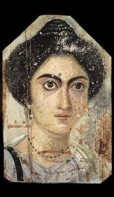 Fayum Mummy Portraits date to the Roman period, from the late 1st century BCE or the early 1st century CE onwards. Not clear when their production ended, but recent research suggests the middle of the 3rd century. They are among the largest groups among the very few survivors of the highly prestigious panel painting tradition of the classical world, which was continued into Byzantine and Western traditions in the post-classical world, including the local tradition of Coptic iconography in…