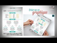 ▶ Tuto - Créer un CV graphique / design avec Photoshop - Formation CC - YouTube