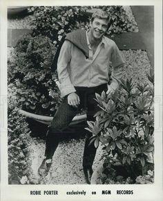 1967 Press Photo of Australian country pop/rock musician Robie Porter