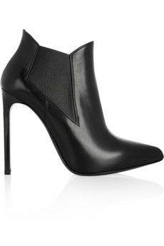 Saint Laurent Leather ankle boots | NET-A-PORTER