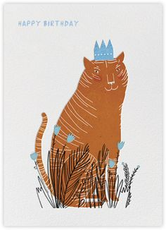 King Cat (Lizzie Stewart) - Paperless Post