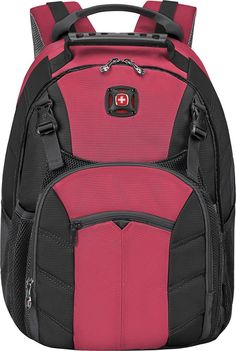 Wenger - Sherpa Laptop Backpack - Rio red, 601374