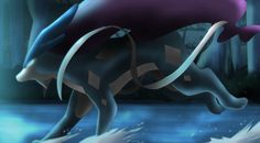 suicune by All0412.deviantart.com on @deviantART