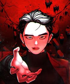 Exo Cartoon, Exo Anime, Dog Comics, Exo Fan Art, Fanarts Anime, K Idol, Girl And Dog, Kpop Fanart, Kyungsoo
