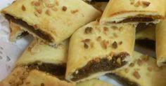 IMQARET Dates Diamonds Beignets, Maltese, Malta Food, Muffins, Cold Desserts, Biscuit Cookies, Mediterranean Recipes, Greek Recipes, Tray Bakes