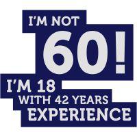Geburtstagshirts, T Shirt 60. Geburtstag, T Shirt Sprüche Zum 60