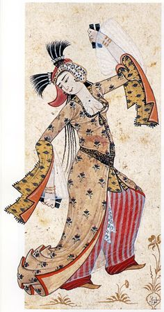 Dancing Girl, Levni, Topkapi Palace Museum, Pinned from: pin.it… – iranian carpet living room Middle Eastern Clothing, Empire Ottoman, Famous Historical Figures, Art Asiatique, Iranian Art, Girl Dancing, Islamic Art, Art History, Medieval