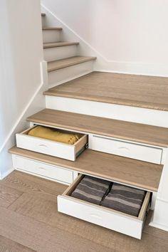 Storage Beneath the Stairs