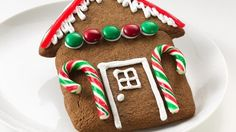 Easy Gingerbread House Cookies recipe from Betty Crocker