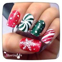 Christmas by sharingvu #nail #nails #nailart