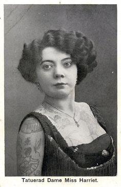 Dame Miss Harriet #vintage tattoo