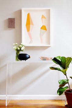 Online art purveyor Tze Chun invites us in to her roomy Brooklyn apartment, where her expectedly well-appointed collection is on display.