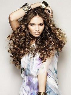 Look de cabello rizado #rizos