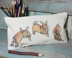 Hey, I found this really awesome Etsy listing at https://www.etsy.com/listing/195596485/bunny-binky-zipper-case-rabbit