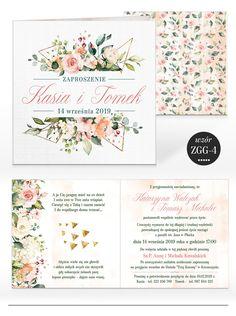 Zaproszenia ślubne RUSTYKALNE KWIATY + KOPERTA 7584587654 - Allegro.pl Handmade Invitations, Fun Wedding Invitations, Invites, Flowers, Inspiration, Paintings, Drawings, Paper, Invitations