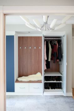 Make the most of your entryway storage with a custom storage solution from California Closets! We combine style and storage to make sure that your home is perfect for you. Entryway Storage Cabinet, Entryway Organization, Storage Cabinets, Apartment Entryway, California Closets, Small Space Storage, Closet System, Small Appliances, Small Spaces