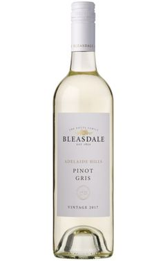 Bleasdale Pinot Gris 2018 Adelaide Hills - 6 Bottles Pinot Gris, Rose Water, White Wine, Wines, Barrel, Bottles, Perfume, Barrel Roll, White Wines