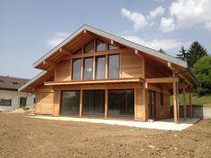 constructeur maison ossature bois BBC haute savoie 74