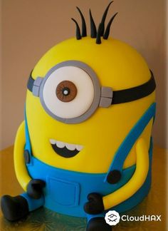 Delicious Despicable Me Minion Cakes:From Dave, Stuart or Jerry, Jorge, Tim or Mark, Phil, Jon, Bob or Kevin, let alone Despicable Me, your favourite is here for you to gather