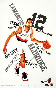 LaMarcus Aldridge Portland Trail Blazers