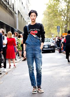 3921ed0321d161 Your Denim Street Style Handbook  52 Looks To Get You Inspired