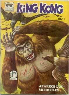1960's Mexican King Kong comic book #47