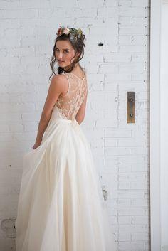 frocks modern wedding dress