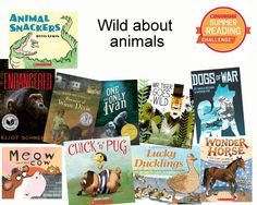 We're WILD about reading animal books this week! #SummerReading