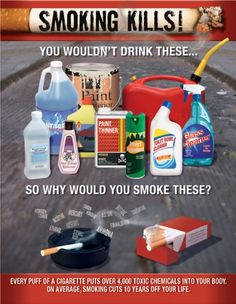 Anti Smoking Posters and Some Frightening Smoking Statistics
