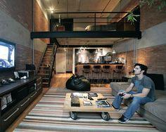 Resultado de imagen para imagenes de departamentos tipo loft,  en una area pequeña