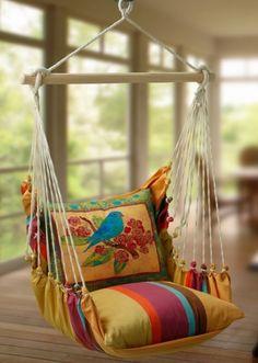 Подвесное кресло-гамак