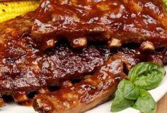 Receitas - Costelinha de Porco ao Molho Barbecue - Petiscos.com