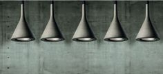 ::LIGHTING:: Beautiful concrete pendants