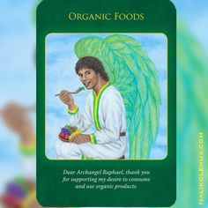 """""""Oracle card reading gives me the most needed information at that moment—without having to think about anything in particular before asking for guidance.  And since I'm anyway writing about cards, I asked the angels and spiritual guides for messages for the people reading this blog post so that you may find something you can take away from this article""""   Please visit my website to read the rest of this blog post! Thanks✨ #organicfoods #oraclecardreading #ArchangelRaphael"""