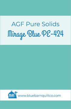 $18 CAD per yard AGF Pure Solids Mirage Blue PE-424. Premium PIMA Cotton 44″ wide, The purest hues meet Art Gallery Fabrics' soft hand and superior quality. All the solids you have been looking for to match your collections are here! Sold by the 1/4 yard or in Fat Quarters, ships to Canada and USA. Check out our website for all of our fabrics.   #agfsolids#agfpuresolids #longarmquilting   #ilovequilting#canadianquiltshop #sewcanadian #onlinequiltshop #onlinequiltstore #onlinefabricshop Met Art Galleries, Art Gallery Fabrics, Longarm Quilting, Superior Quality, Fat Quarters, Quilt Patterns, Ships, Canada, Yard